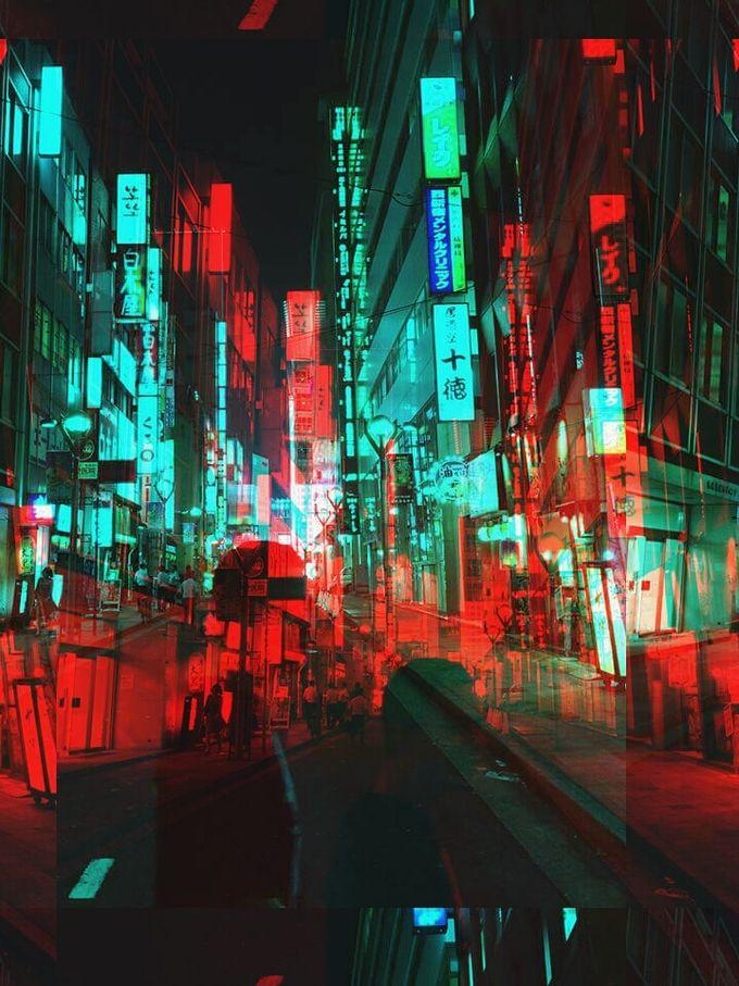 TOKYO in 2019 | Compositing | Glitch art, Glitch, Tokyo