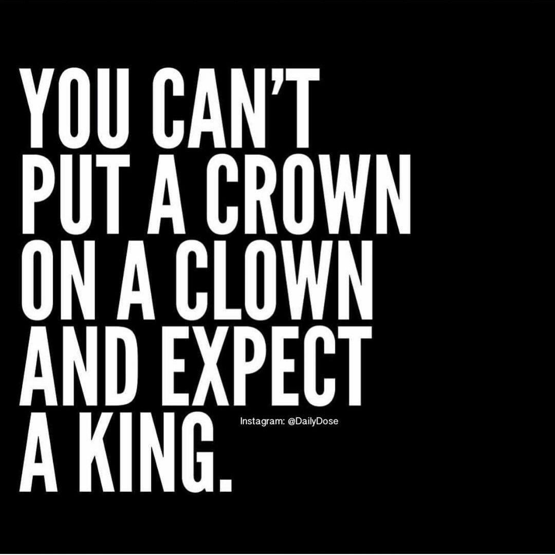 Nor A Queen Crowns Belong On Kings And Queens Not Clowns Queen
