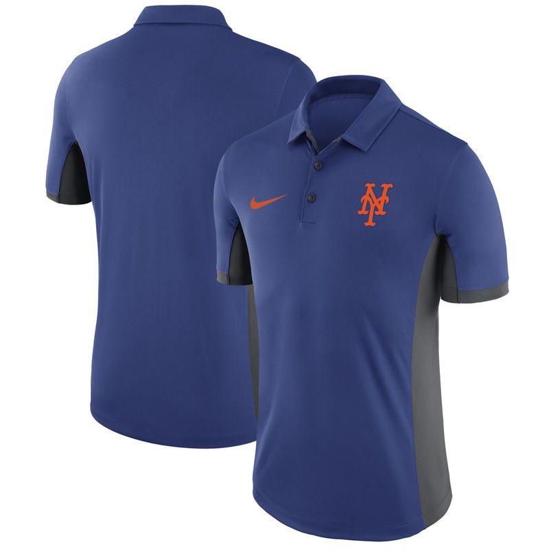 New York Mets Nike Franchise Polo - Royal