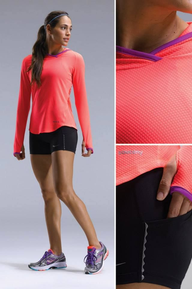 Saucony running mujer | Ropa deportiva mujer, Ropa deportiva