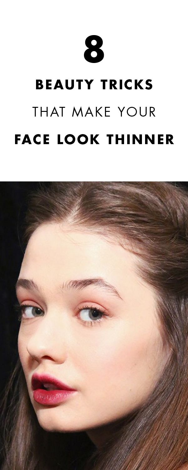 8 Tricks To Make Your Face Appear Slimmer InPhotos
