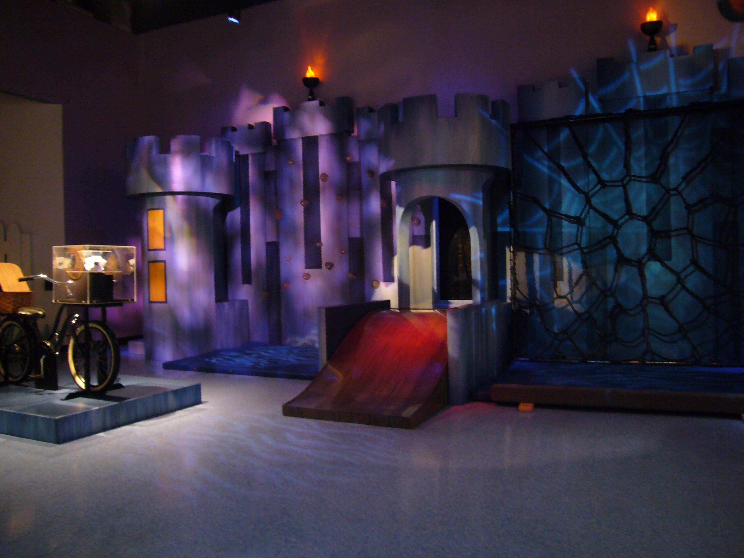 wicked witch of the west's castle | children's museum exhibit