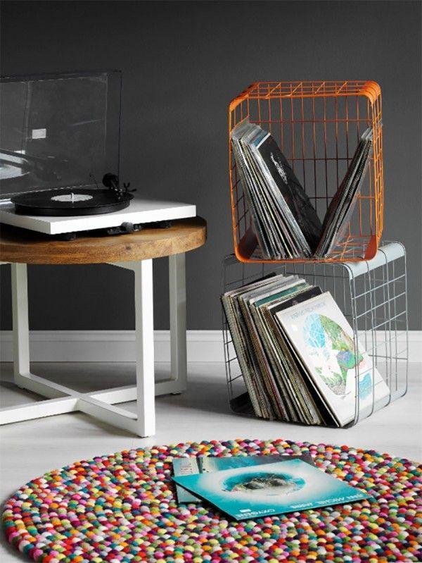 47 Meubles Pour Ranger Des Vinyles Mobilier De Salon Meuble Vinyle Stockage De Vinyle