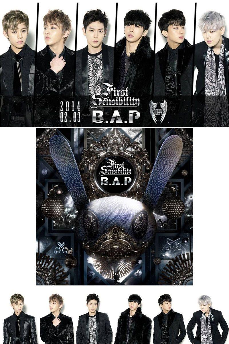 B.A.P's 1st full-length album <First Sensibility>- 수록곡 메들리