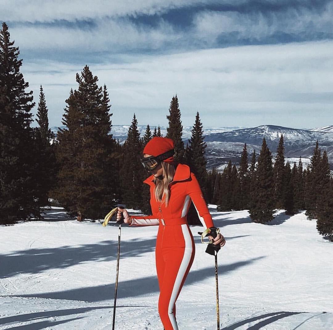 cordova co red ski suit onesie in 2019  apres ski