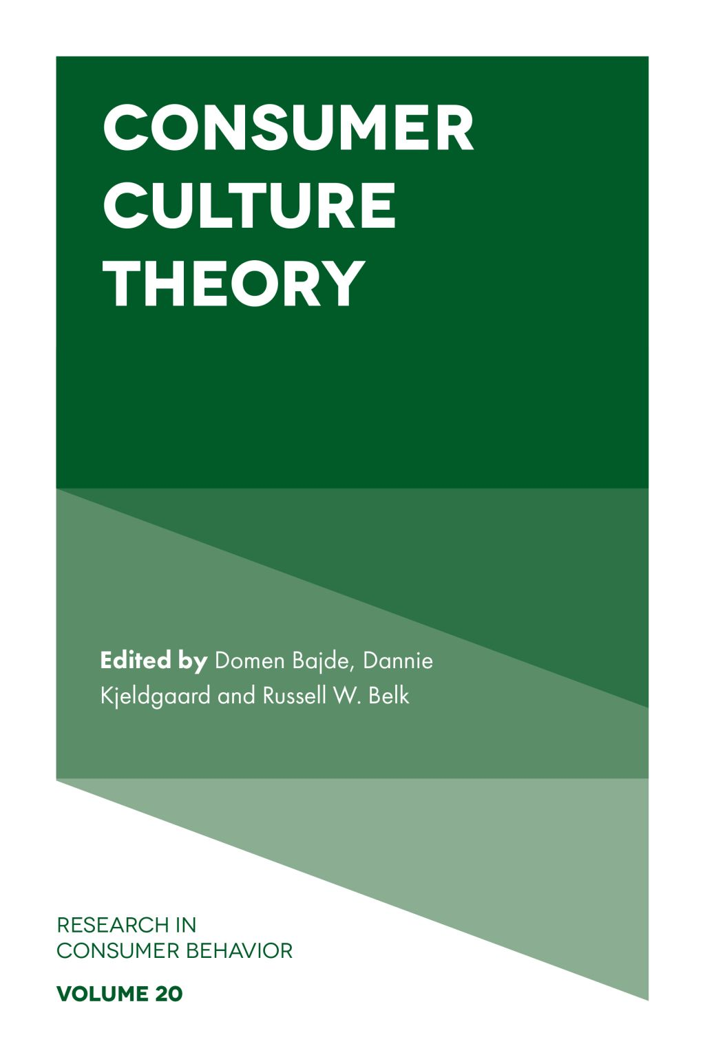 Consumer Culture Theory Ebook Consumer Culture Theories Consumers