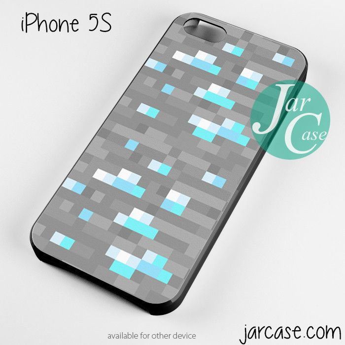 minecraft inspired Ore diamond Phone case for iPhone 4/4s/5/5c/5s/6/6 plus