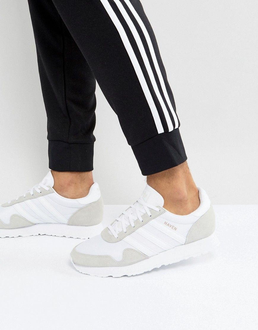 ADIDAS ORIGINALS HAVEN SNEAKERS IN WHITE BY9718 WHITE