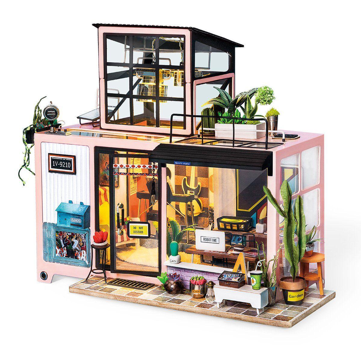 Kevin's Studio Robotime DIY Miniature Dollhouse Kit