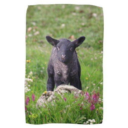 Baa Baa Black Sheep Kitchen Towel Home Gifts Ideas Decor Special Unique Custom Individual Customized Individuali Baa Baa Black Sheep Kids Gifts Newborn Gifts