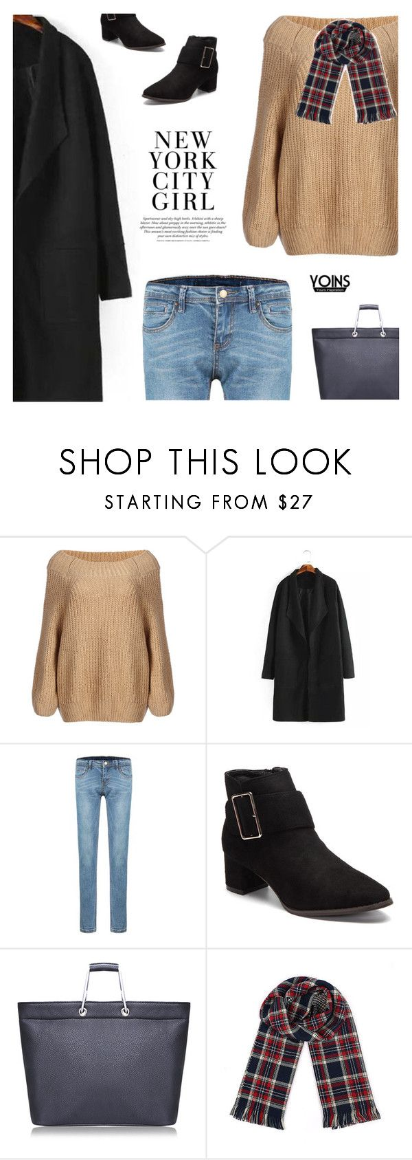 """A Friend Is Like A Star That Twinkles & Glows - Yoins X"" by paradiselemonade ❤ liked on Polyvore featuring H&M, yoins, yoinscollection and loveyoins"