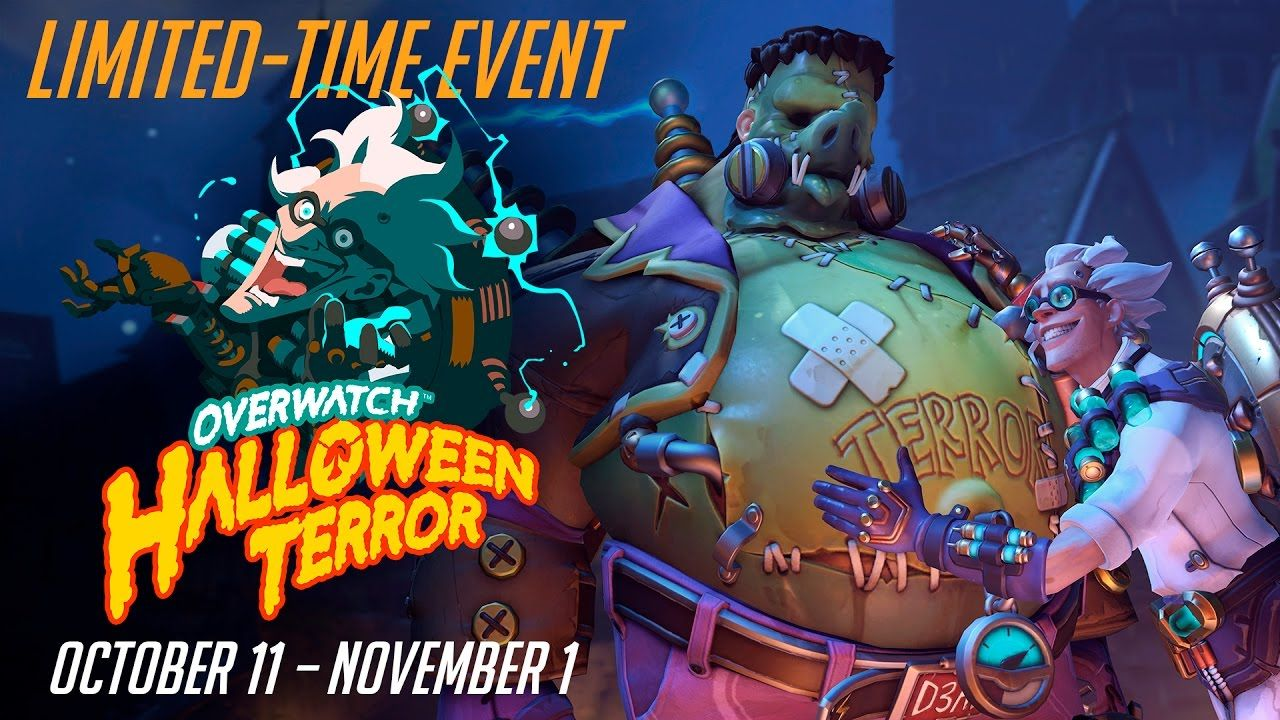 Overwatch's New Seasonal Event : Halloween Terror #games ...