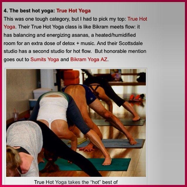 True Hot Yoga S Photo True Hot Yoga Was Voted Best Hot Yoga Studio In Phoenix Thank You Arizona Foothills Magazin Hot Yoga Studio Hot Yoga Classes Hot Yoga