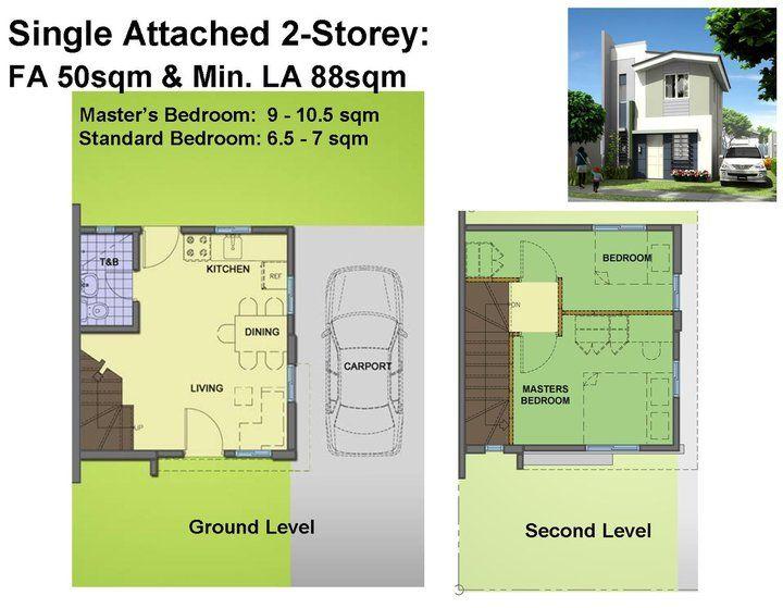 Small  Storey House Plans Philippines  Hiqra