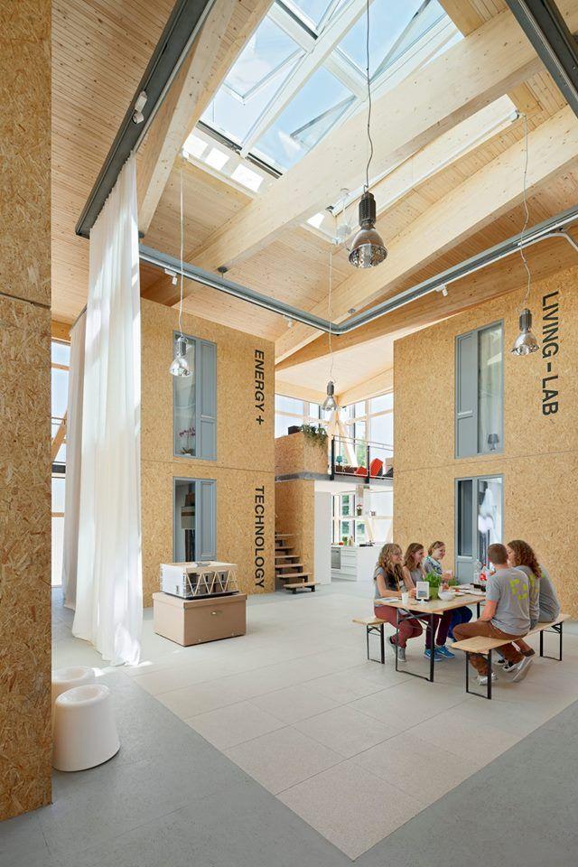 wohnkonzept nach dem haus im haus prinzip cubity bietet modularen und transportierbaren. Black Bedroom Furniture Sets. Home Design Ideas
