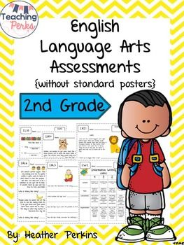 2nd Grade Common Core ELA Assessments {without standard
