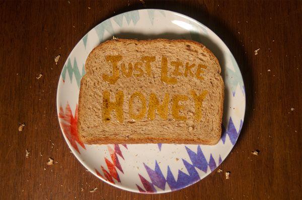 Just Like Honey // Hand Lettering on Behance
