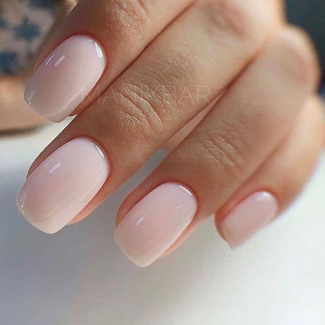 Beautiful Stylish Square Short Nails Design In 2020 Gel Nails Nails Inspiration Square Nails