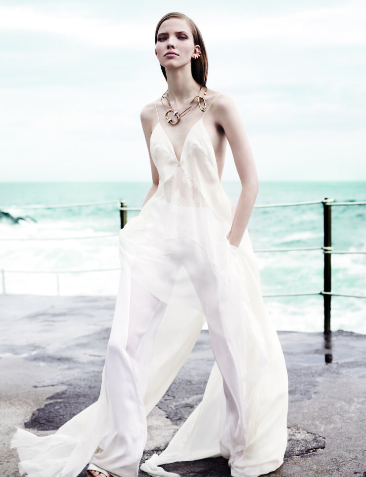Sasha Luss by Josh Olins for Vogue China May 2013