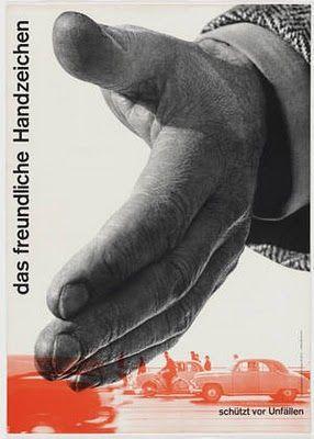 Josef Muller Brockmann Swiss Auto Club Poster 1954