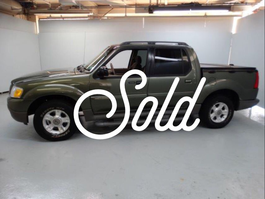 Sold!!! 2001 Ford Explorer Sport Trac with 71,309 K miles