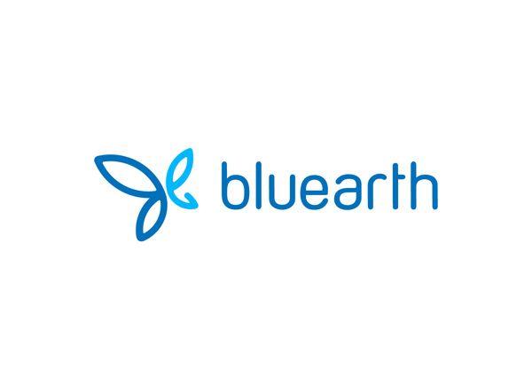 bluearth #LOGO by Siddharth Khandelwal, via Behance