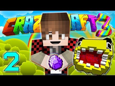 Minecraft Crazy Craft 3 0 Pacman Boss And Back To Basics 2