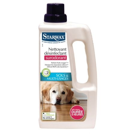 Nettoyant désinfectant surodorant animal Starwax 1l