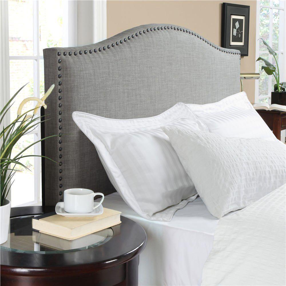Dorel Linen Headboard   Gray. Bedroom Color SchemesBedroom ...
