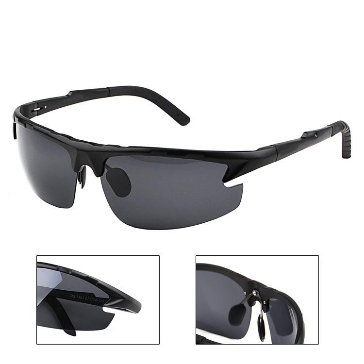 8efcb3eee85 2017 New pattern Magnesium aluminum alloy Outdoor sport Men polarized sun  glasses UV400 polarized sunglasses driving. Yesterday s price  US  31.63  (27.75 ...