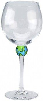 Earth Wine Glass (Set of 2) $39.99