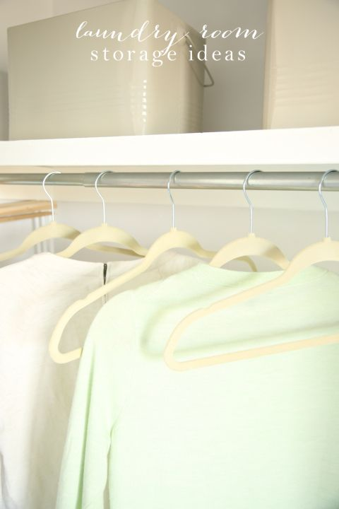 Simple solutions for an organized & beautiful laundry room