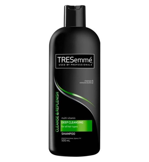 Tresemme Vitamin C Deep Cleansing Shampoo 500ml Deep Cleansing Shampoo Tresemme Shampoo Cleansing Shampoo