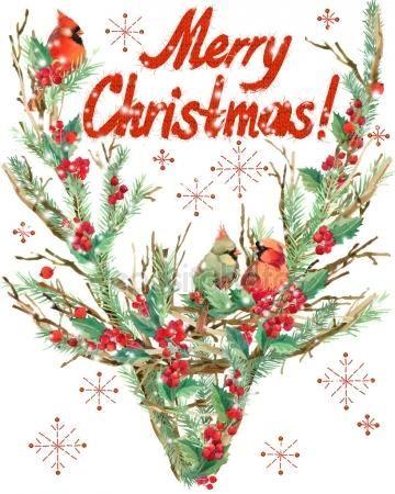 Herunterladen Frohliche Weihnachten Aquarell Weihnachten
