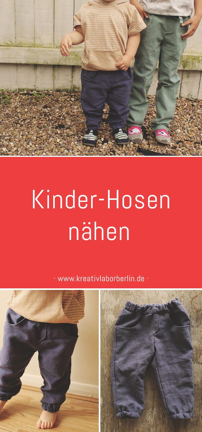 """Photo of Unsere Kinderhosen """"Alvin"""" – ganz minimalistisch aus Naturstoffen – Kreativlabor Berlin"""
