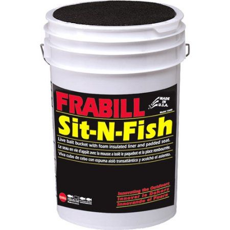 Frabill Sit-N-Fish Bucket, Blank | Products | Bait bucket, Boat
