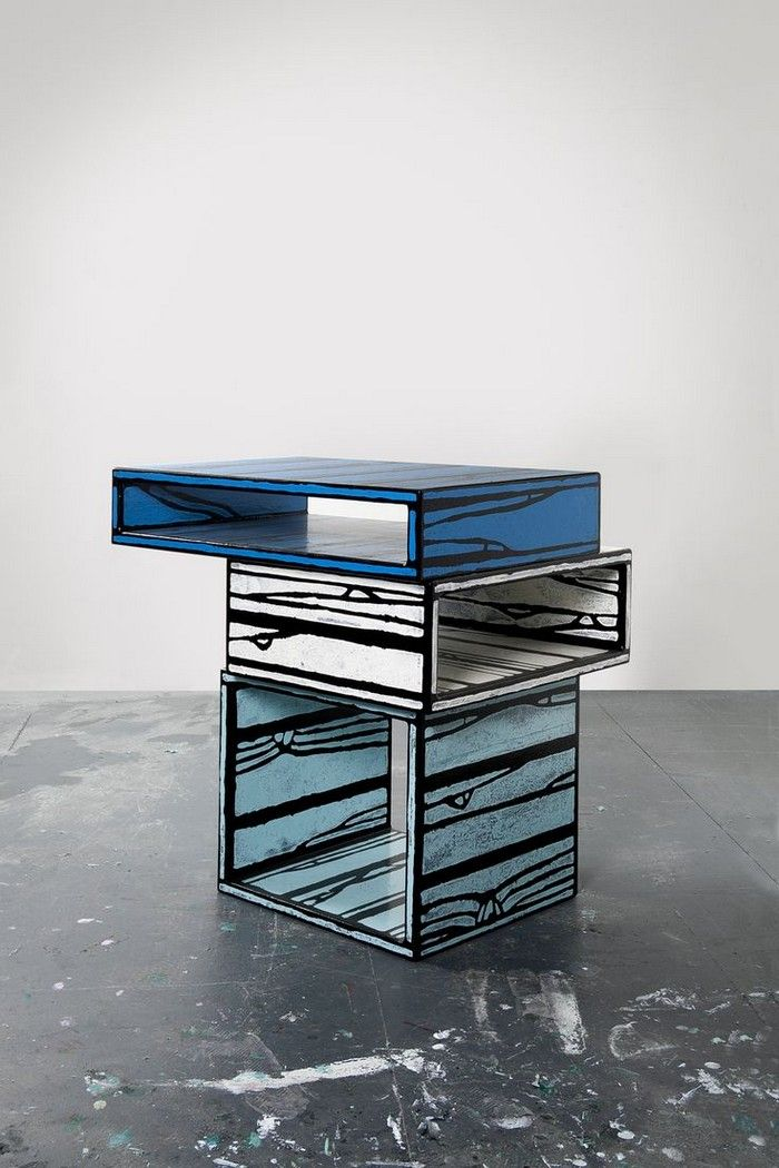 Delicieux Richard Woods U0026 Sebastian Wrong Designed Colorful Furniture For The  Renowned Brand Established And Sons.