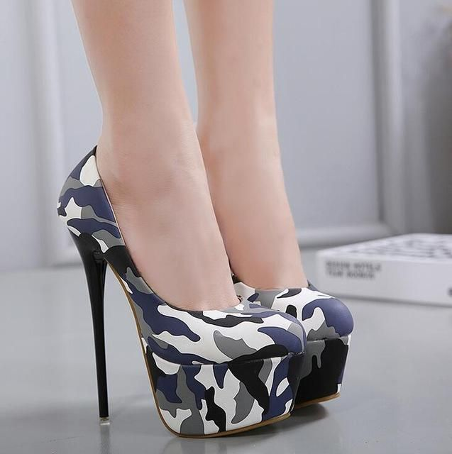 ff1417a9215 Gender  Women Item Type  Pumps Pump Type  Basic Lining Material  PU  Occasion  Party Model Number  258-8 Fashion Element  Rome Platform Height   3-5cm Heel ...