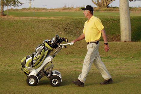 Swigo An Innovative Personal Golf Cart Design And Developed In Tamooz Golf Trolley Golf Carts Design