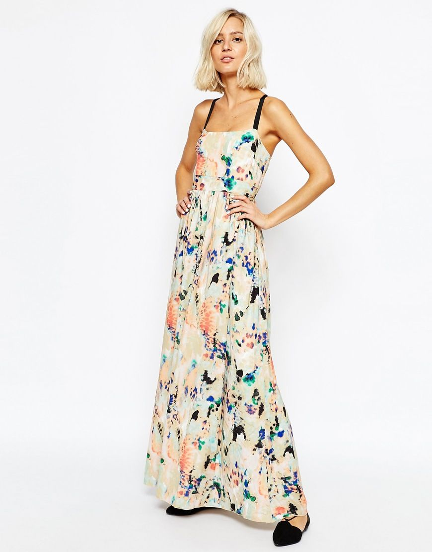 Image 1 - Selected - Cathy - Maxi robe imprimée