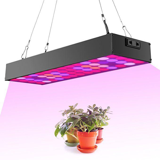 Newforshop 30W Led Grow Light Kit Full Spectrum With Uv 640 x 480
