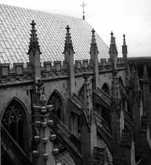Well Maintained Historic Roofing On National Cathedral Washington Dc