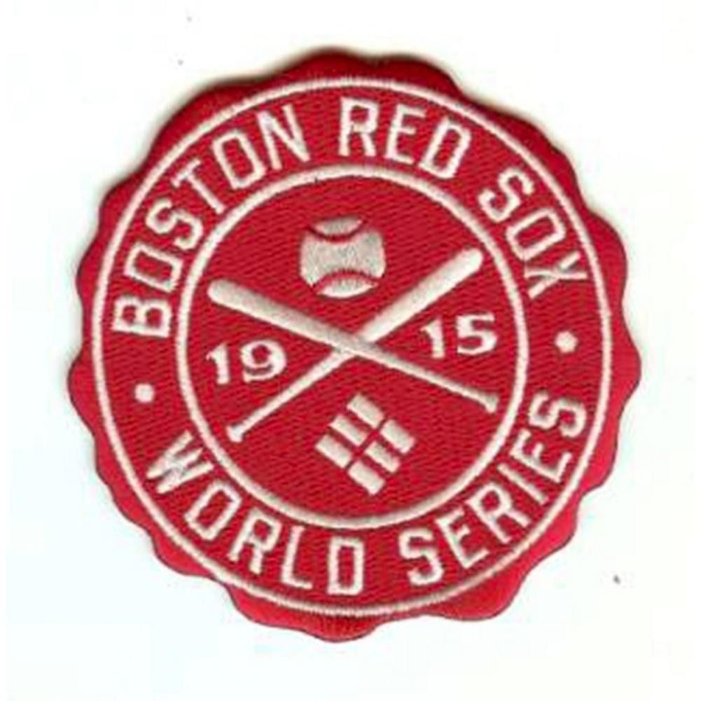 MLB World Series Logo Patches 1915 Red Sox Mlb world