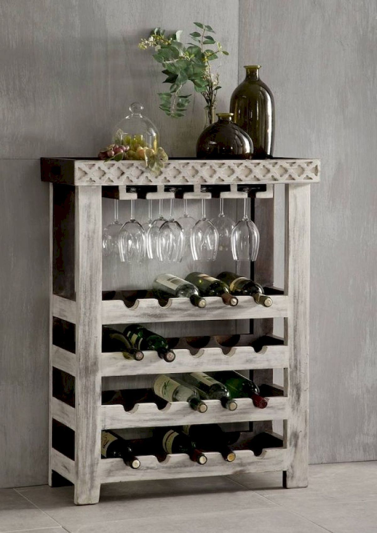 Creative Diy Wine Racks For Your Collection Rustic Wine Racks