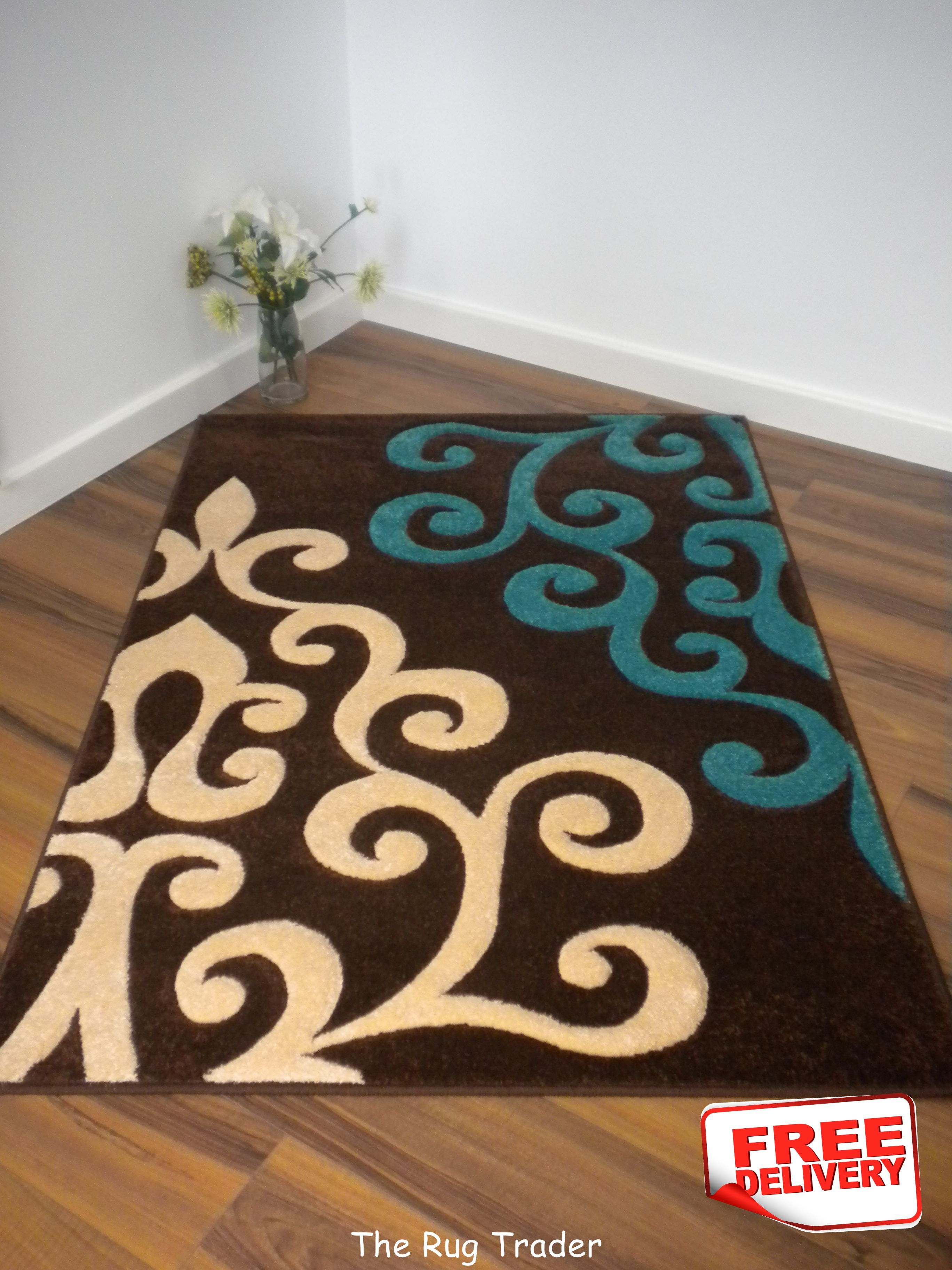 Pinned for the idea to make a canvas floor rug with oversized