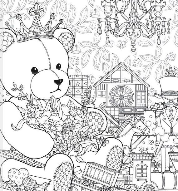 All Gifts of the World - Adult Coloring Book - Daria Song - Art ...