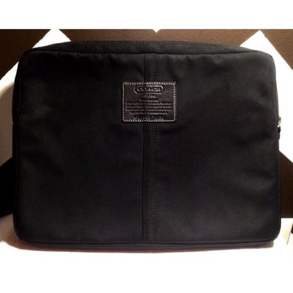 COACH Laptop Case 14 X 10 inches. Lightly used. Coach Accessories Laptop Cases