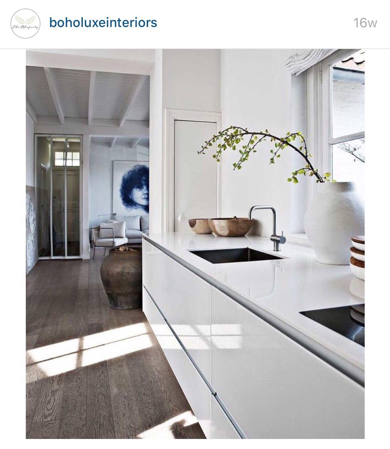 Kitchen Floor Boards