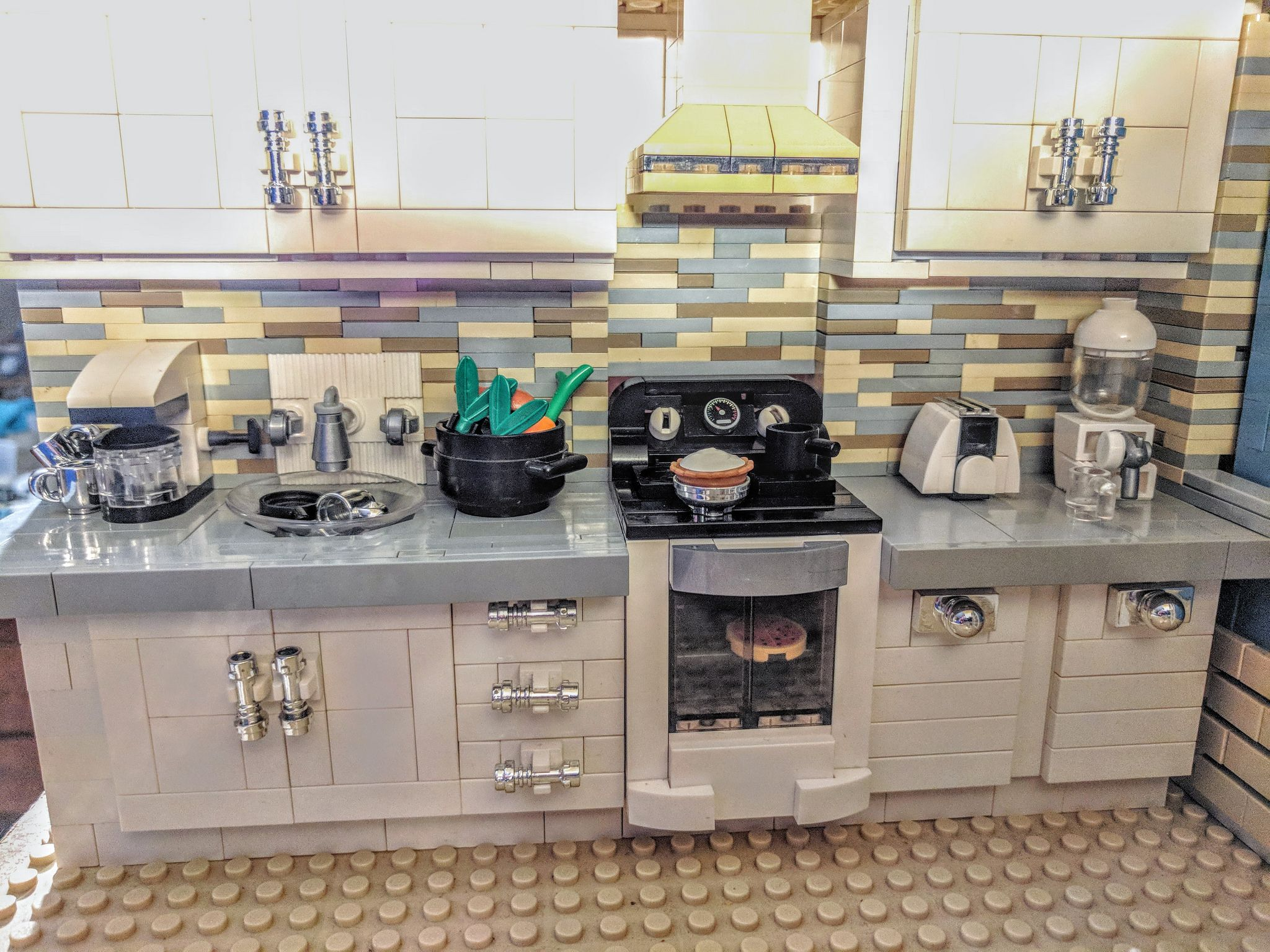 Best Modern Lego Kitchen Lego Kitchen Lego Furniture Lego 400 x 300