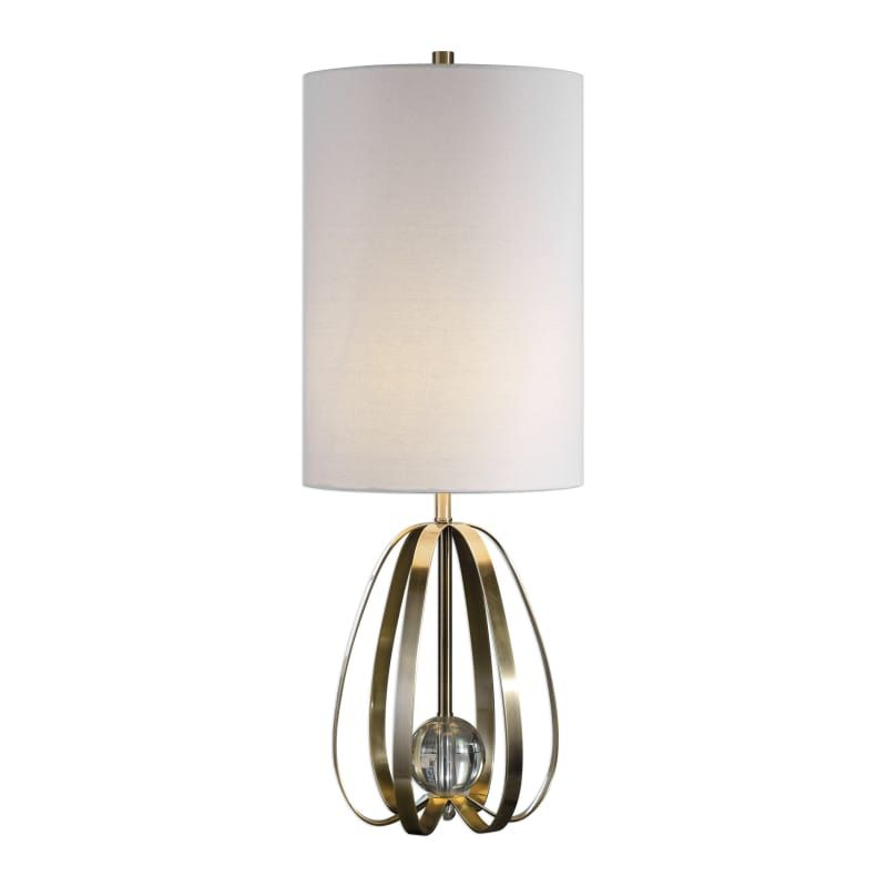 Uttermost 29612 1 Avola Single Light 30 Quot Tall Buffet Table Lamp By David Frisch Brushed Nickel Lamps Table Lamps In 2020 Lamp Nickel Lamps Table Lamp